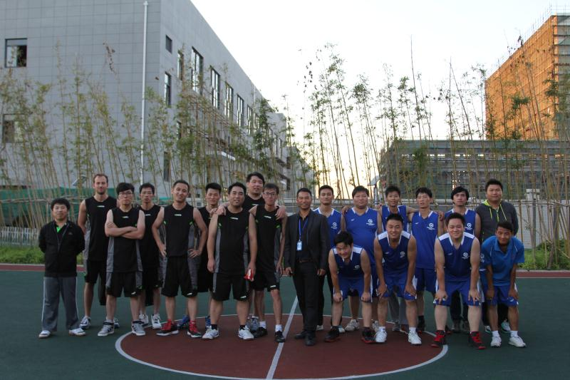 Smart music pull VS Shanghai Chao Cheng basketball match